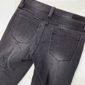 Blank NYC Jeans - Blank NYC Patchwork Skinny Ankle Fray Jeans 25